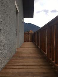 Balcony - make and install Morzine