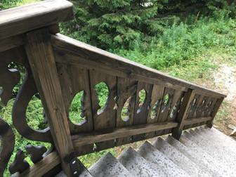 Balcony and bridge Praz de lys