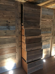 Fitted cupboard Morzine