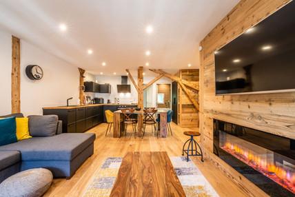Apartment renovation Morzine