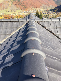 Ridge of Complete roof Morzine