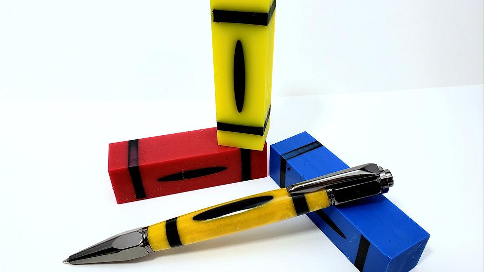 Vertex Click Crayon Pen
