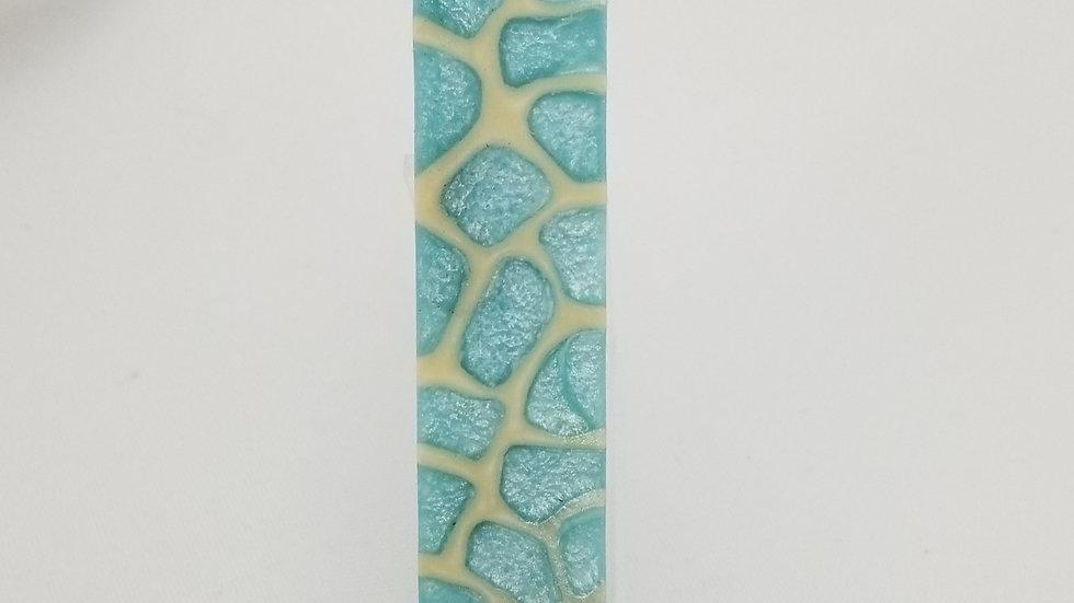 Sea Glass Blue Giraffe Pen Blank