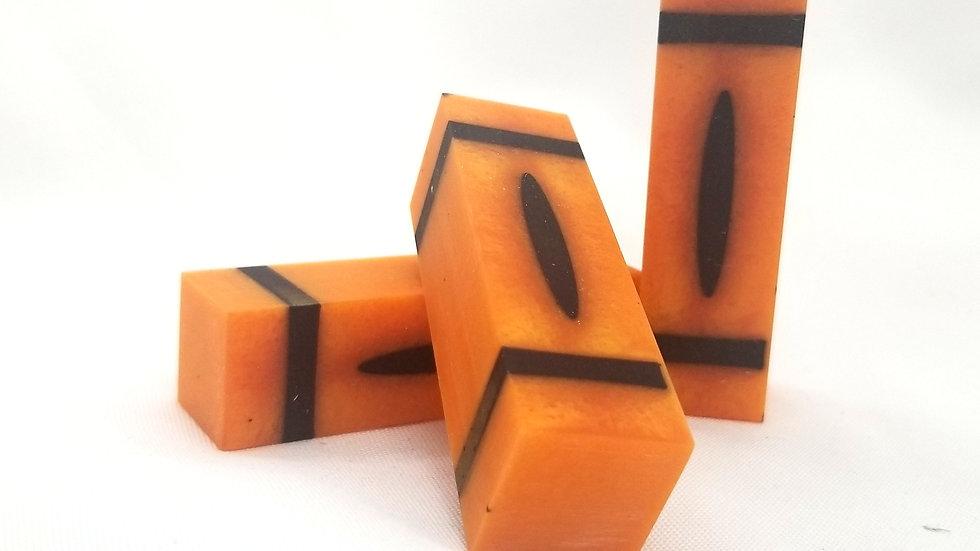 "3"" Pearl Orange Crayon Blank"
