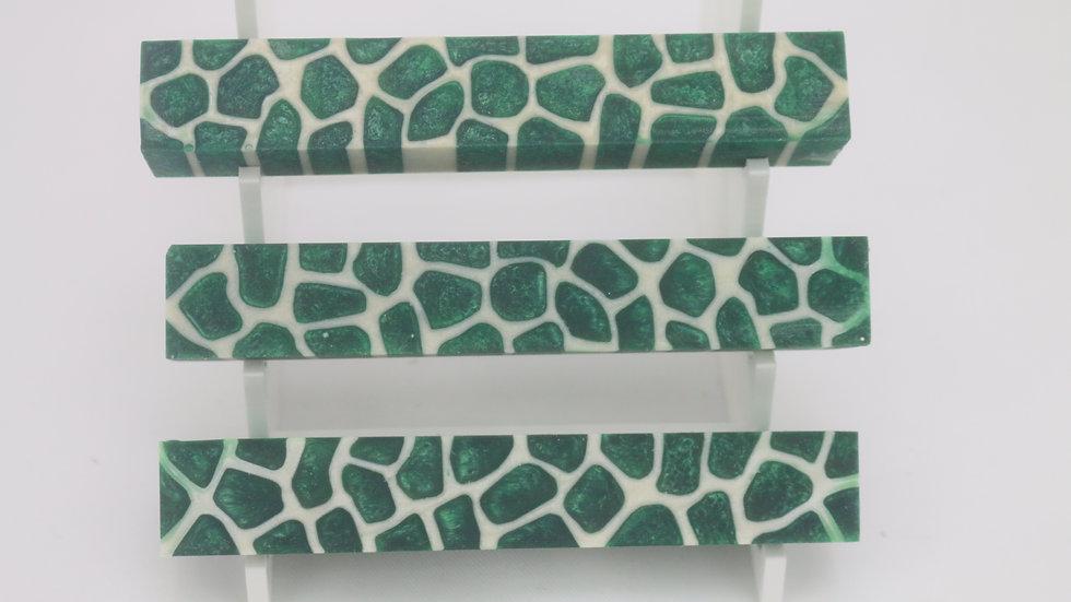 Emerald Green Giraffe Pen Blank