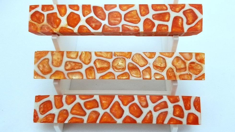Creamsicle Orange Giraffe Pen Blank