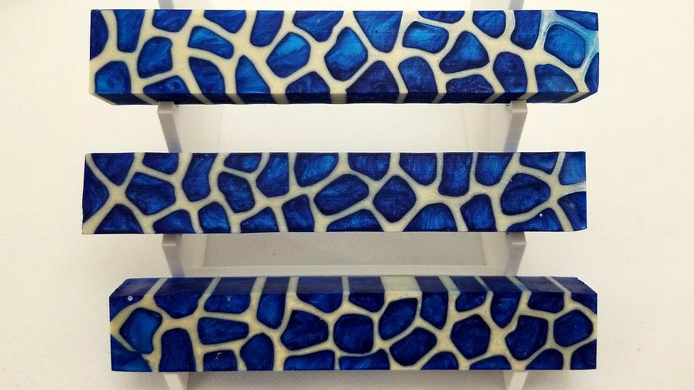 Sapphire Blue Giraffe Pen Blank