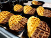 Peanut Butter and Chocolate Protein Waffles
