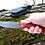 """Thumbnail: Нож складной """"Ястреб"""" с клинком из дамасской стали"""