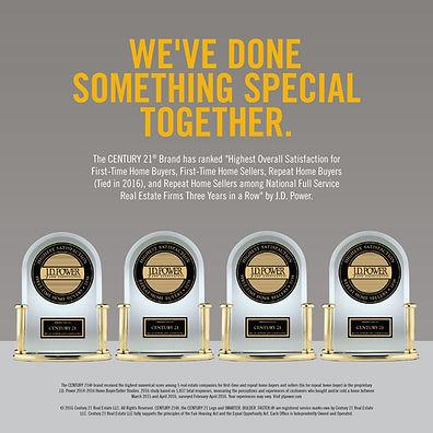 San Antonio Real Estate - JD Power Award - CENTURY 21 Scott Myers