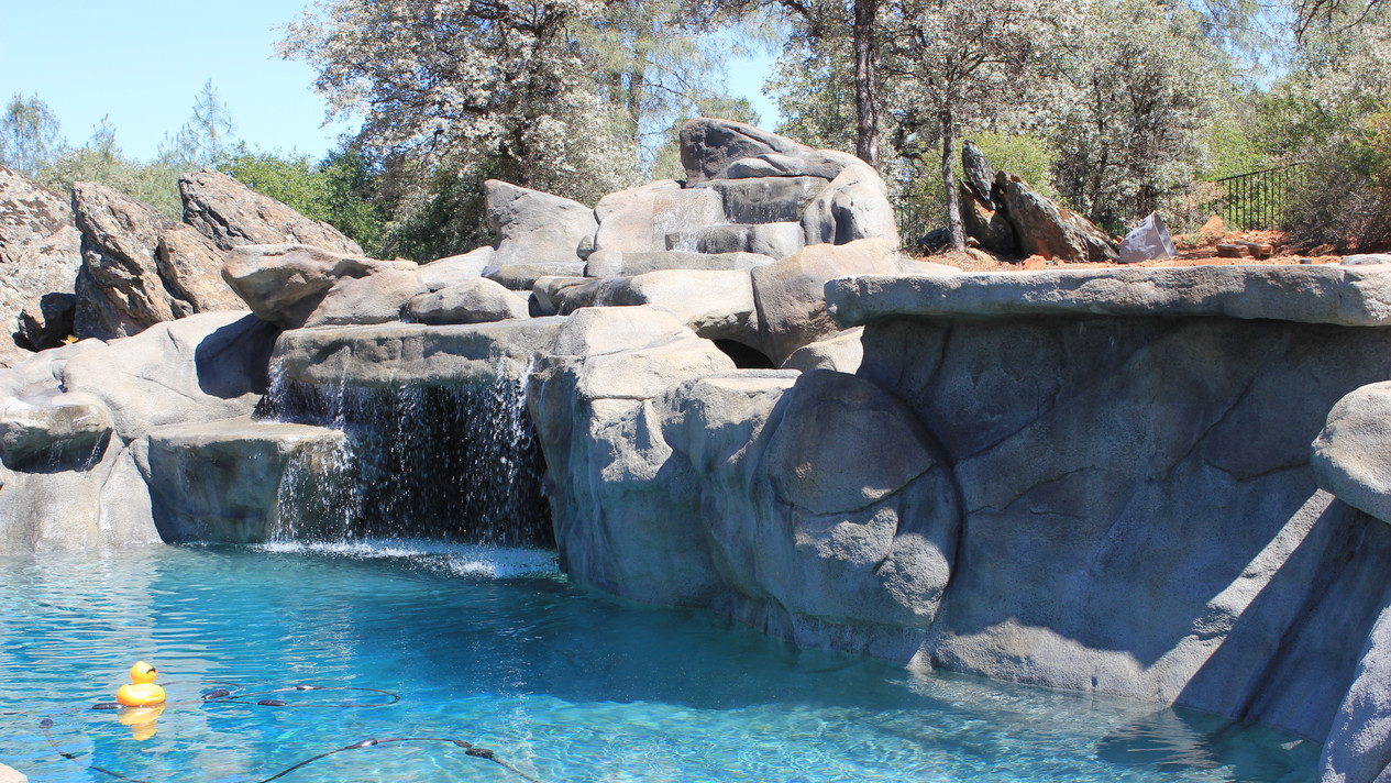 JUMPING ROCKS & SWIM UP TABLE   Swimming Pool Contractor   Yuba ...