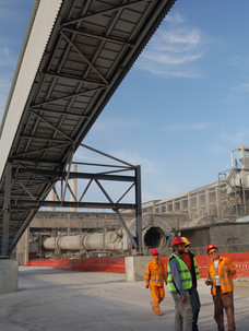 Belt Conveyors, Cement Plant, Devnya