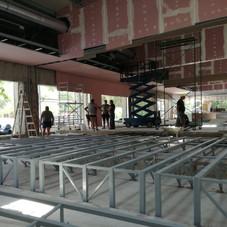 Seating Riser System, Perunika Hall, Albena