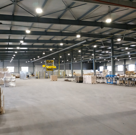 Extension of Production Workshop in New Glass Plant – 3 Phases