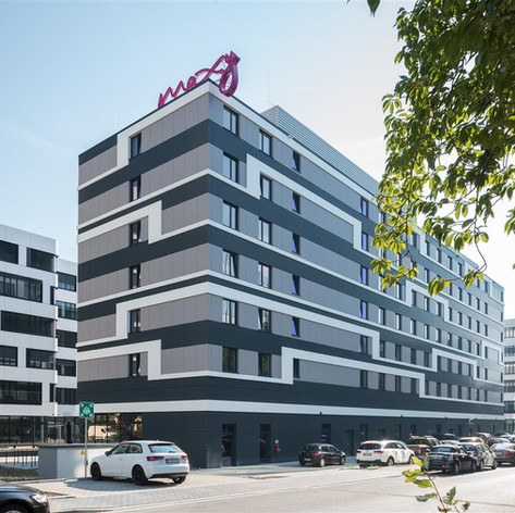 Claddings, Moxy Hotel, Eschborn