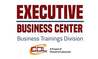 Executive Business Center logo  with col