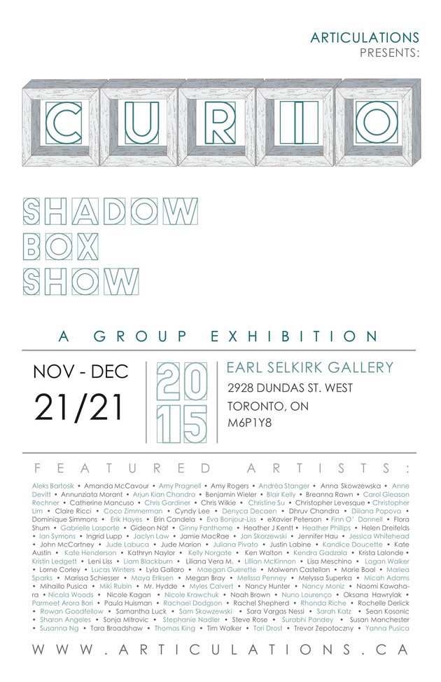 Curio Group Show at Articulations