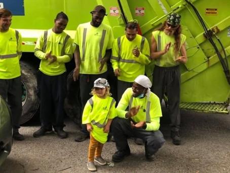 Toronto Boy Who Loves Garbage Trucks Gets Big Surprise On 3rd Birthday