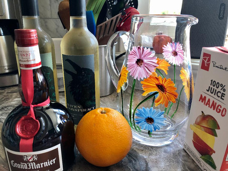 Sweet Sangria and Southern Charm Bean Dip