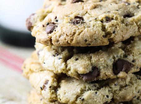Chocolate Chip Chia Cookies