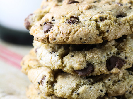 Chocolate Chip Chia Cookies