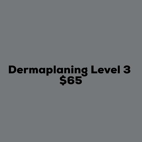 Dermaplaning Level 3