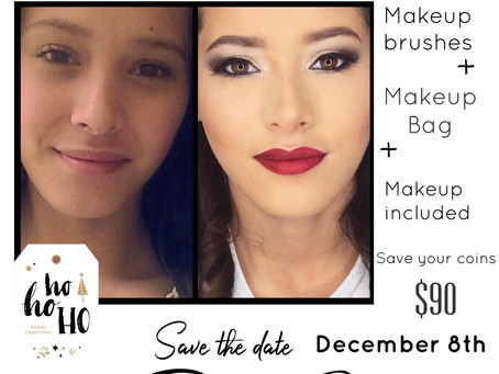 Holiday Makeup Class