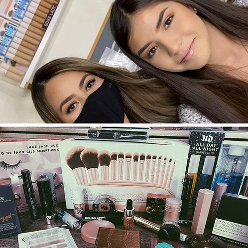 Teen Makeup Class +Makeup Brushes & Makeup