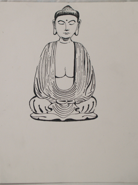 Inkpen Studies for Illustrator: Buda