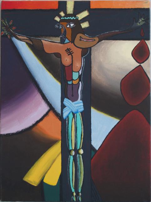 Cubist Christ