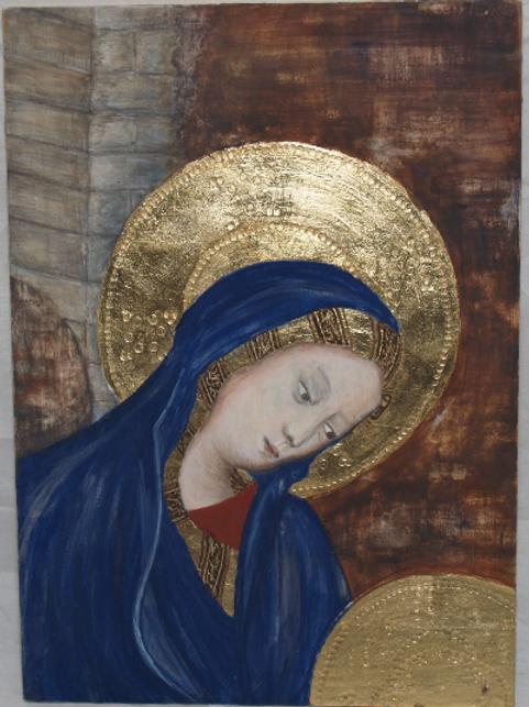 Adoration of the Magi: Study of Mary