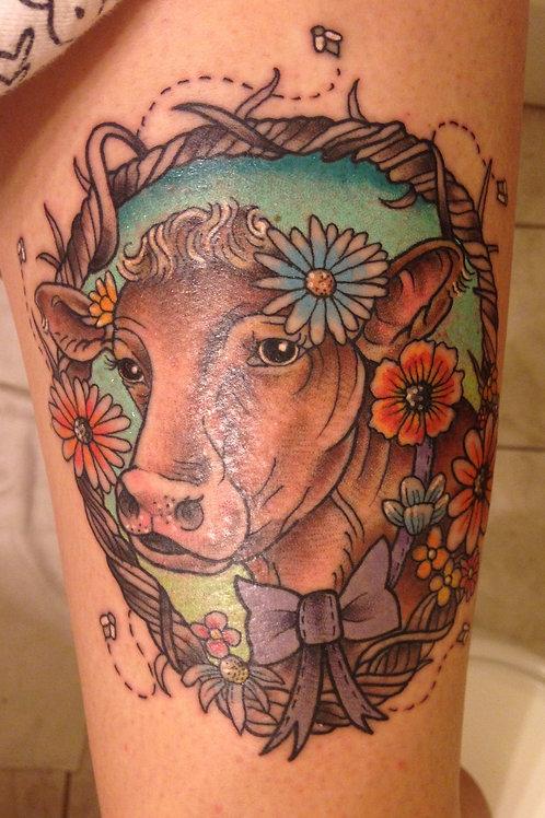 Bessie in Ink