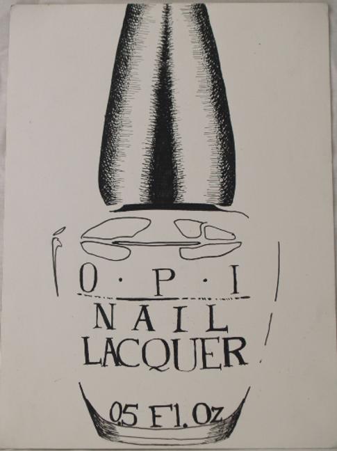 Inkpen Studies for Illustrator: Nail Polish