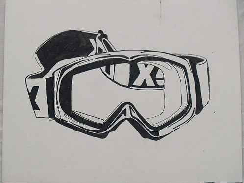 Inkpen Studies for Illustrator: Ski Goggles