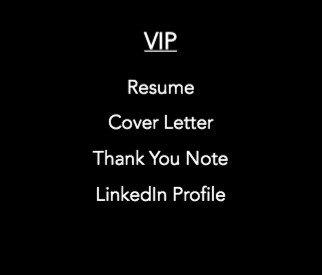 VIP Resume Bundle