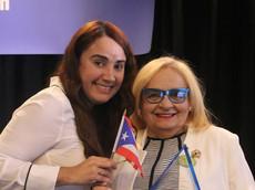 Elizabteh Colón and Blanca Vélez