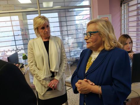 Pam Patenaude visits PRNHS