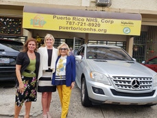 Pam Patenaude visit