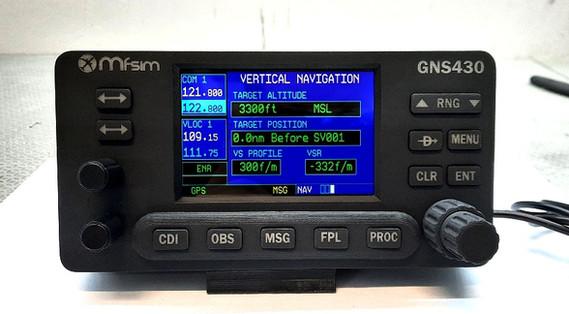 GNS430 GARMIN MFSIM