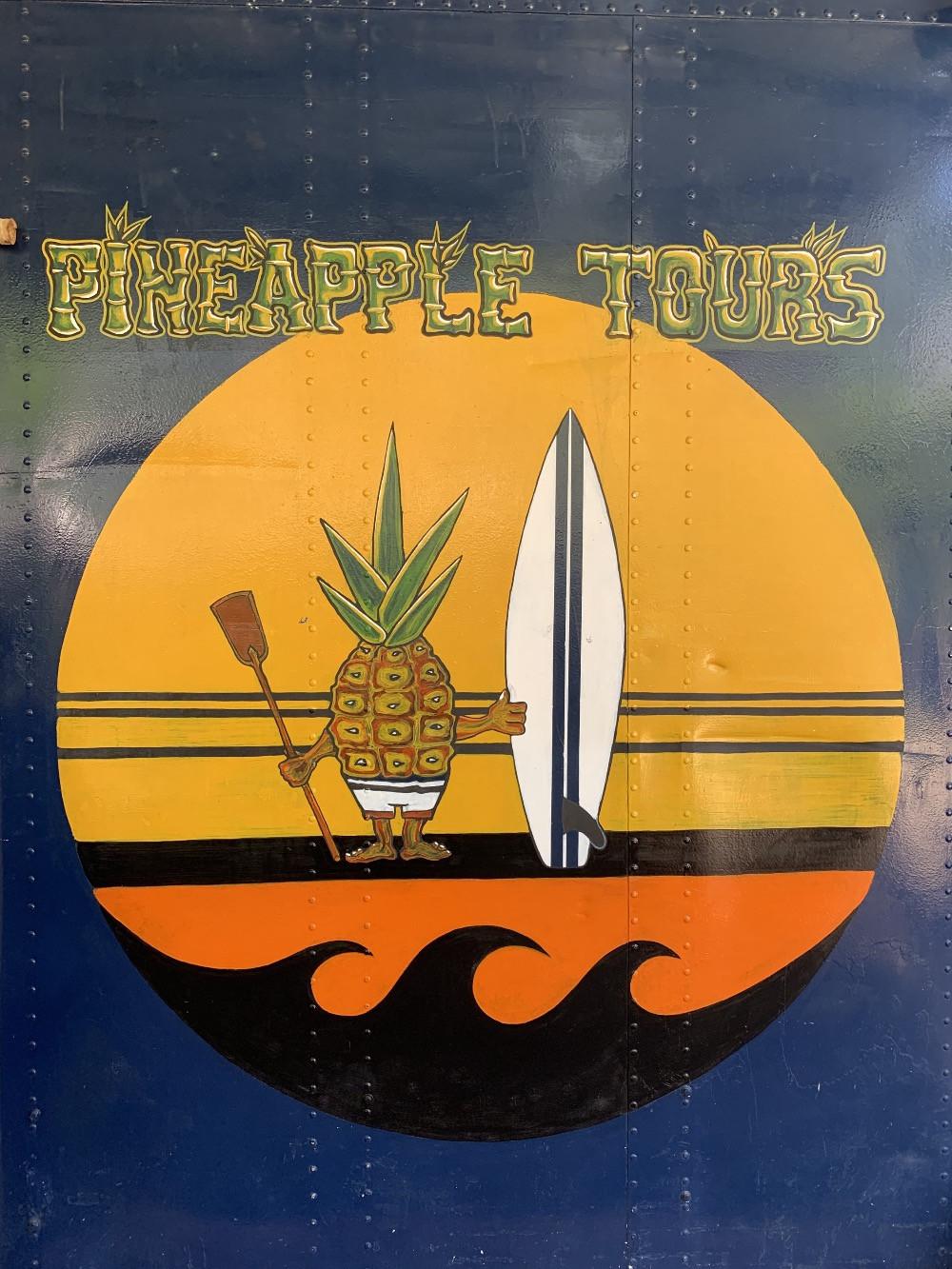 logo pineapple tours
