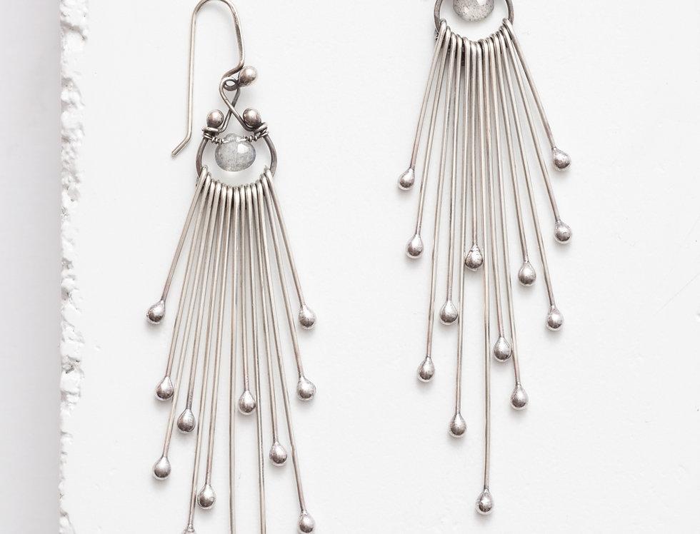 Matchsticks Long Earrings