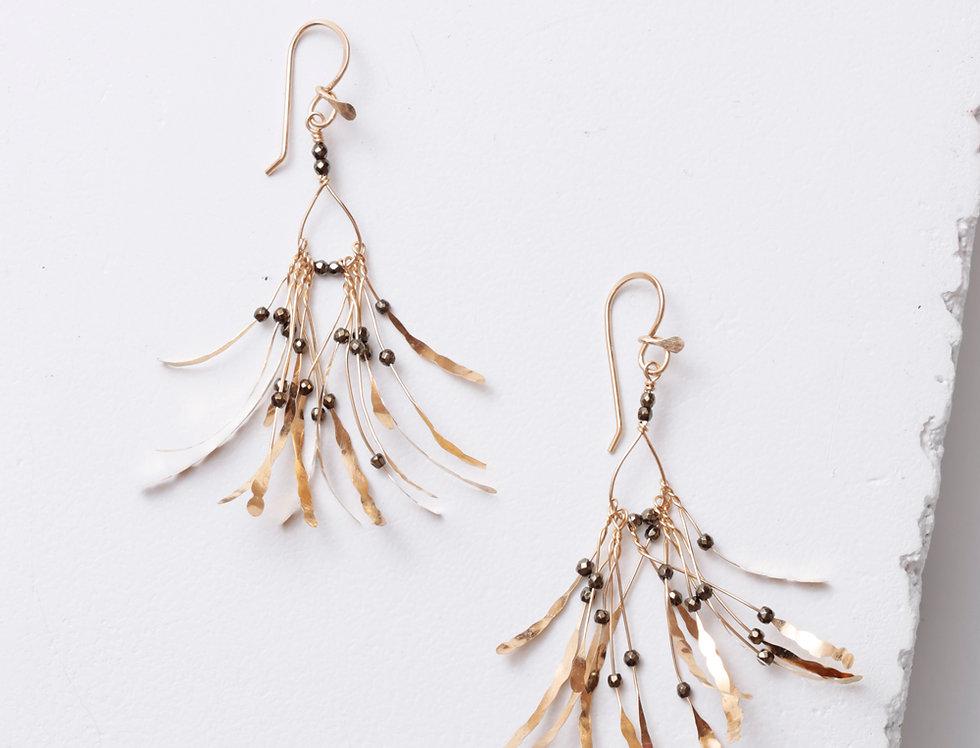 Boa Gold Earrings