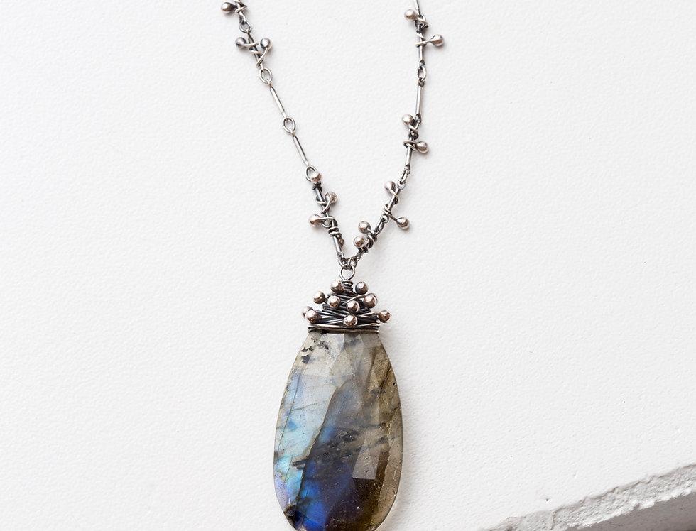Swarm Necklace - Labradorite (XL)