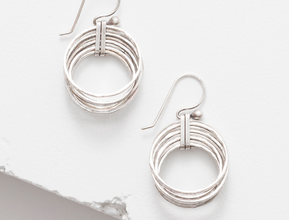 Nested Small Earrings