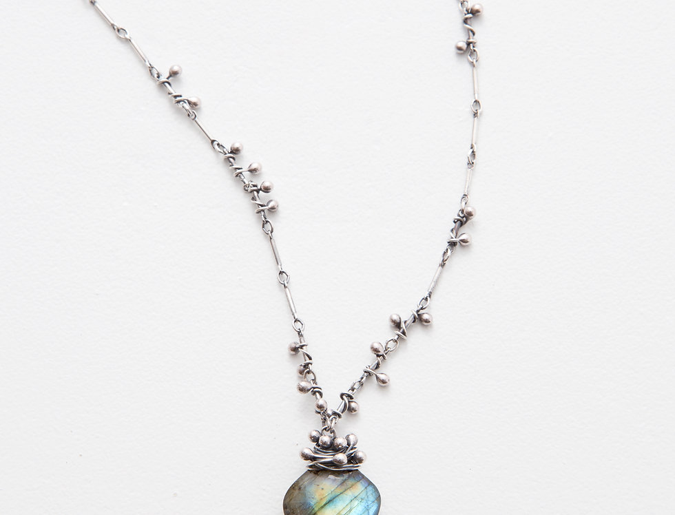 Swarm Necklace - Labradorite