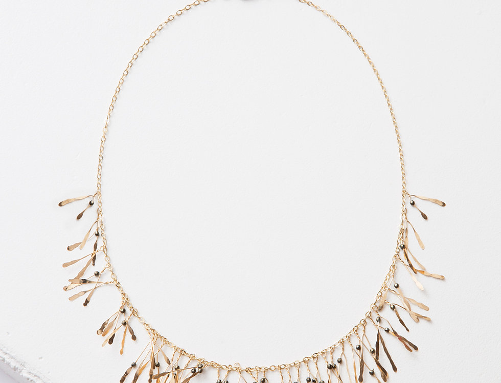 Boa Gold Necklace