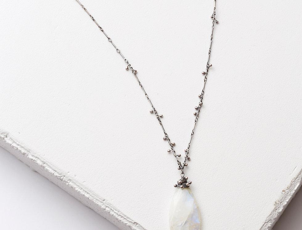 Swarm Necklace - Moonstone