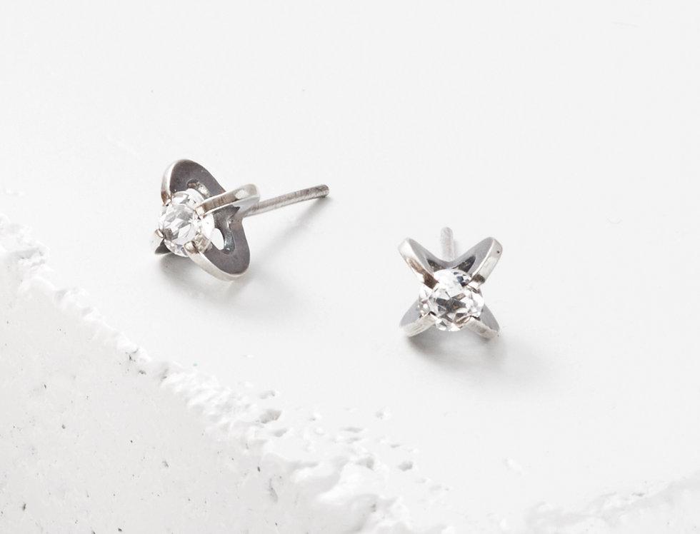4mm Clutch Earrings
