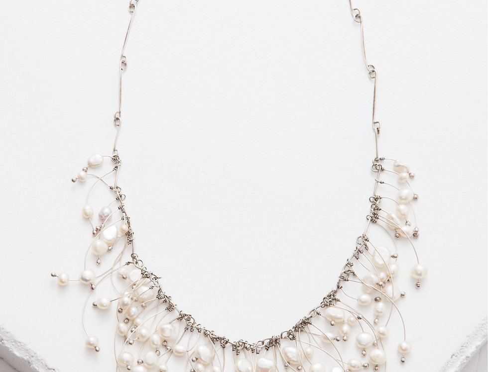 Tickled Pearl Necklace