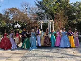 The Royal Events Princess Parties Cast